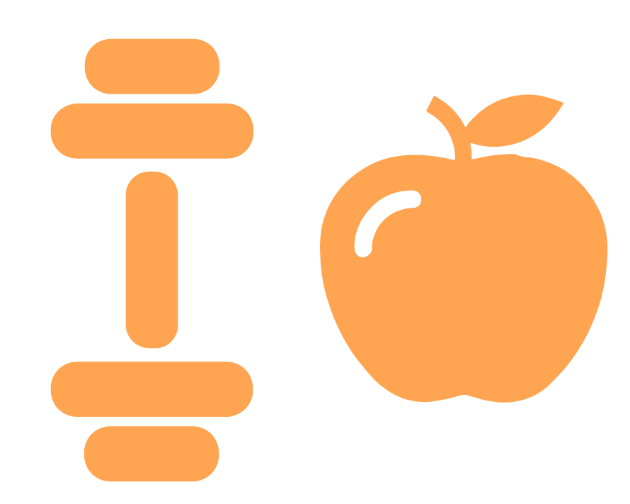 orange wellness icon