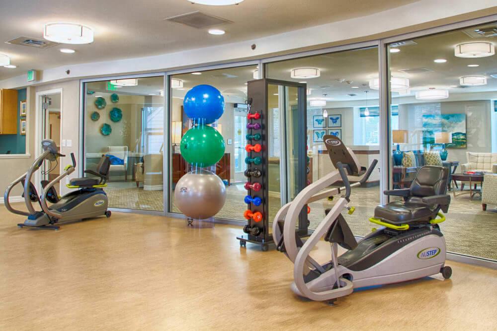 furnished rehab center
