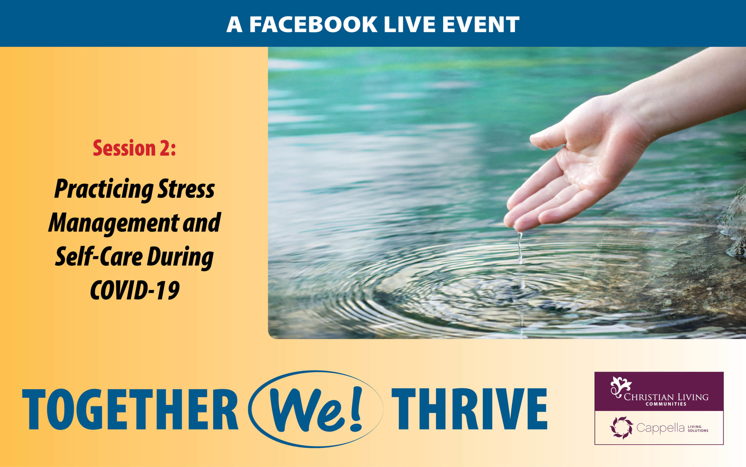 Together we thrive event - 2nd session